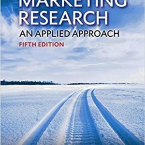 marketing research an applied approach 5th