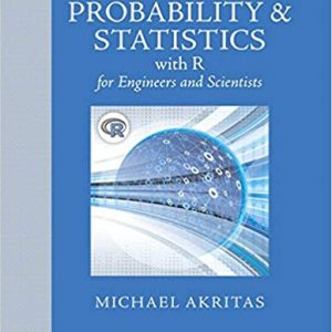 Probability & Statistics for Engineers and Scientists with R -eBook