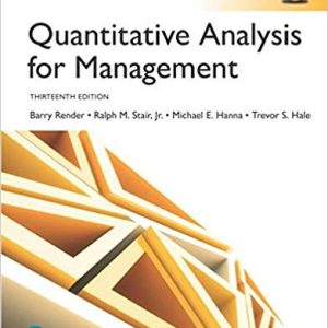 Quantitative Analysis for Management, Global Edition (13th Edition) - eBook