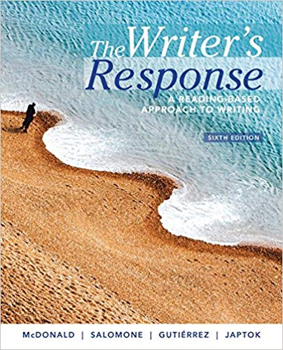 The Writer's Response: A Reading-Based Approach to Writing (6th Edition) - eBook