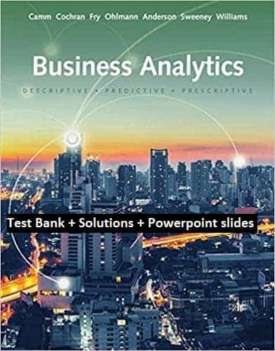 Business-Analytics-3rd-Edition-test bank-solutions