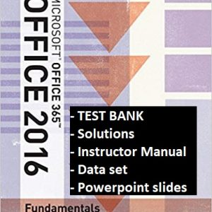 Illustrated-Microsoft-Office-365-Office-2016-Fundamentals-testbank-ism