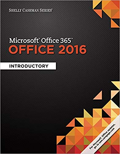 Microsoft Office 365 & Office 2016 (Shelly Cashman Series): Introductory - eBook